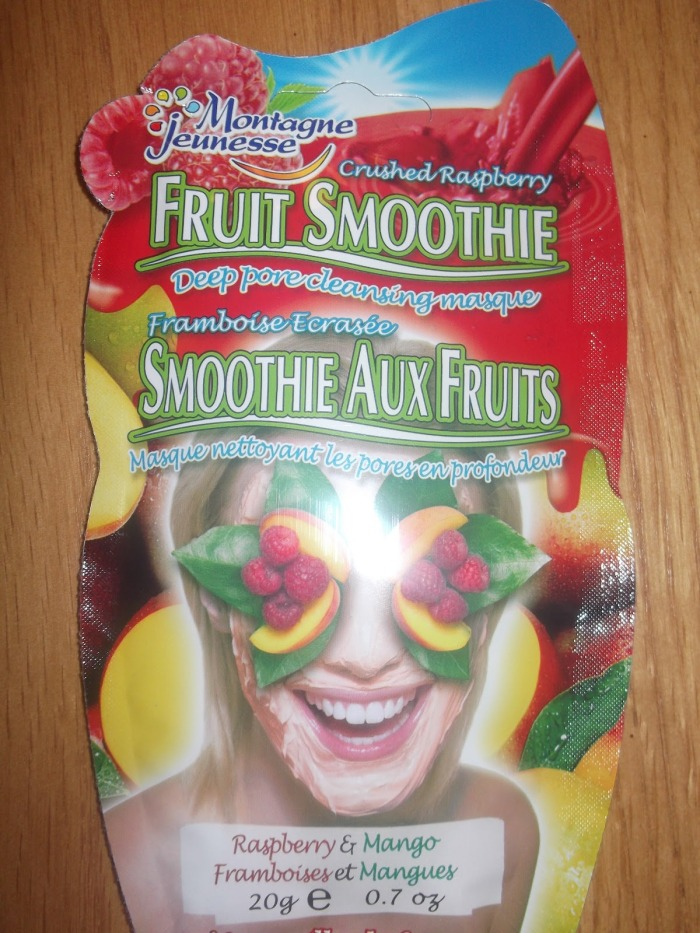 Montagne Jeunesse Smoothie Face mask review