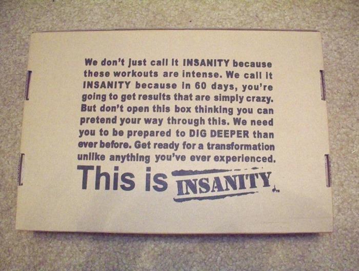 insanity full review and progress box