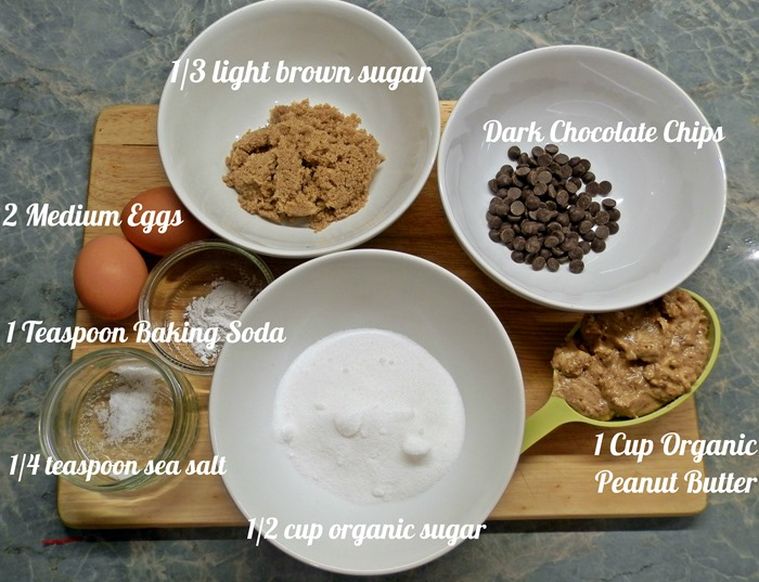 low fat low calorie healthy peanut butter cookies