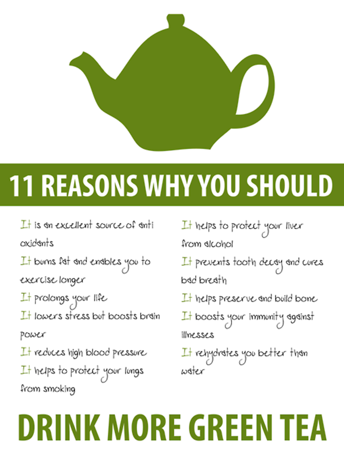 the benefits to green tea