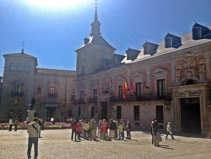 madrid city break city centre