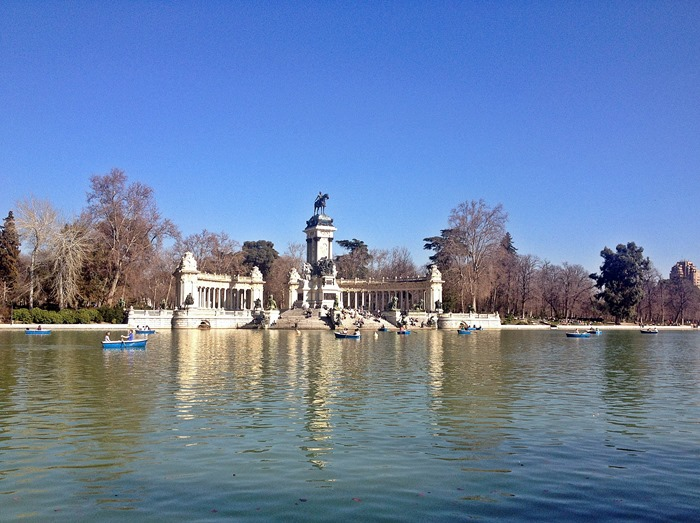 madrid city break retiro park1