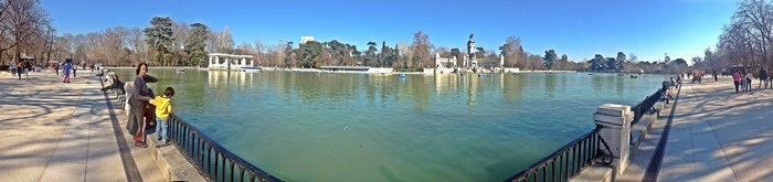 madrid city break retiro park2