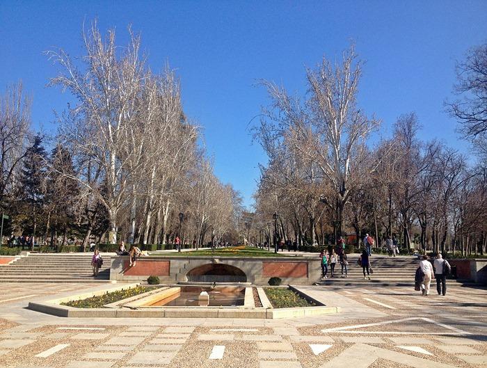 madrid city break retiro park