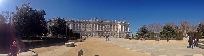 madrid city break royal palace2