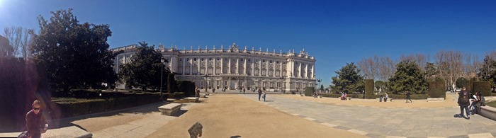 madrid city break royal palace2