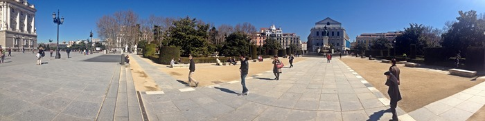madrid city break royal palace3
