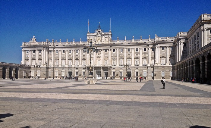 madrid city break royal palace4