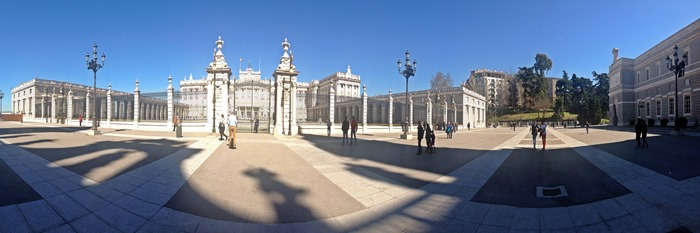 madrid city break royal palace5