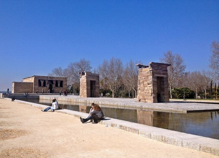 madrid city break templo debod1