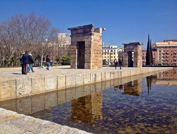 madrid city break templo debod
