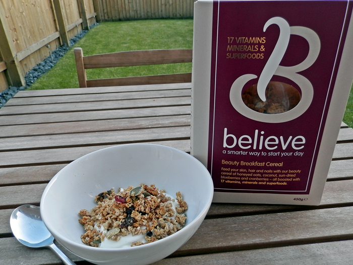 believe cereal beauty breakfast cereal review healthy granola