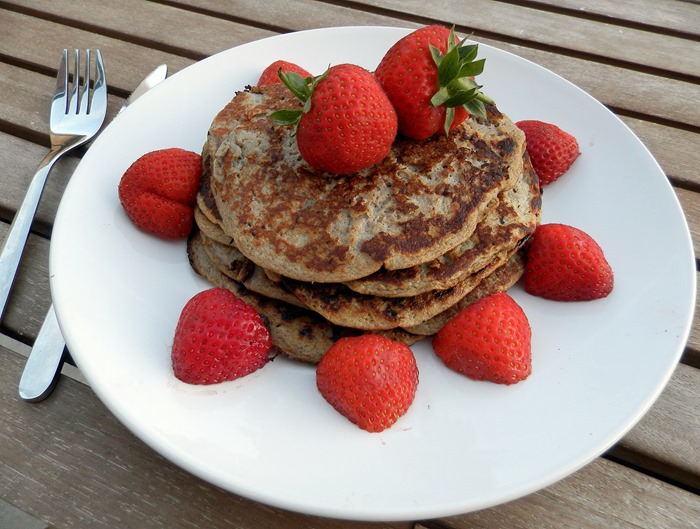 healthy no carb gluten free two ingrediant pancakes clean pancakes