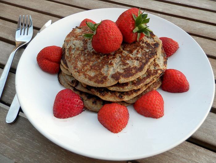 healthy no carb gluten free two ingrediant pancakes clean pancakes