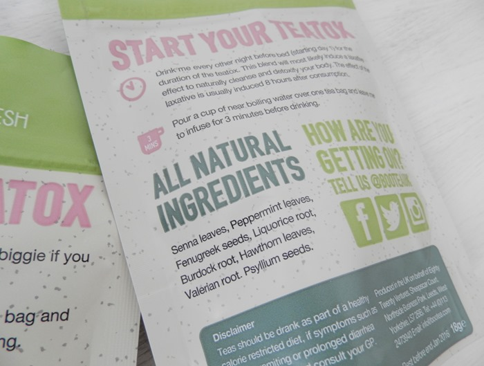 Boo Tea 14 day teatox detox review 10