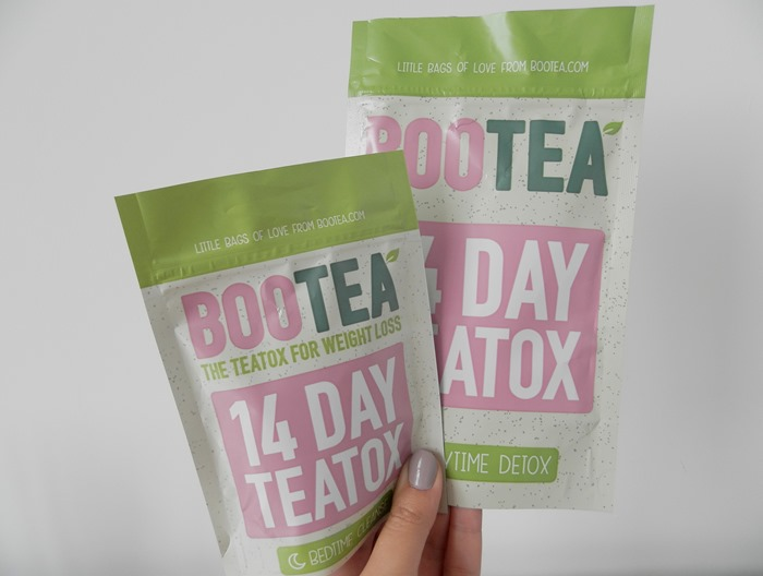 Boo Tea 14 day teatox detox review 1