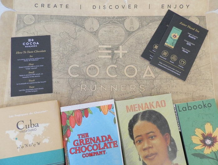 Cocoa Runner Chocolate Box Review 2