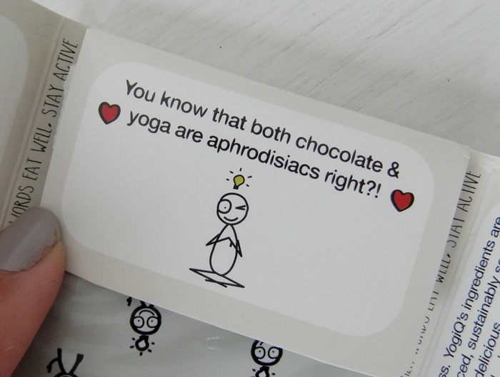 YogiQ IQ Superfood Chocolate Review 5