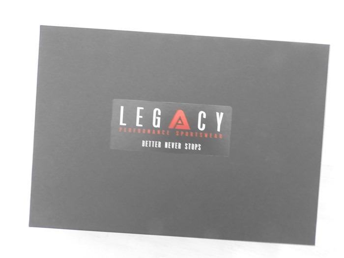 Legacy fitness sportswear