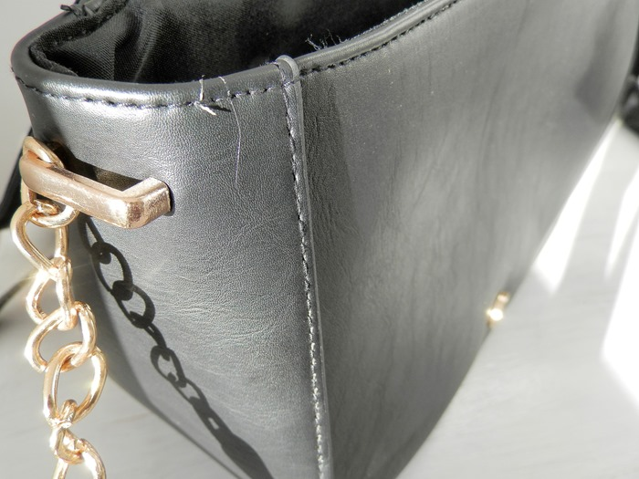 New Look Black Saddle Bag (3)
