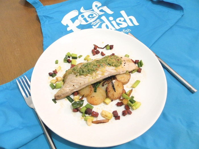 fish is the dish chimichurri mackerel with potato hash (3)