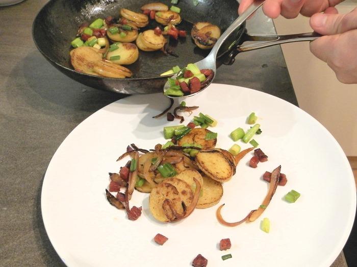 fish is the dish chimichurri mackerel with potato hash