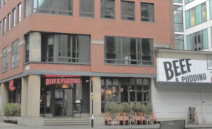 Beef and Pudding Review Manchester
