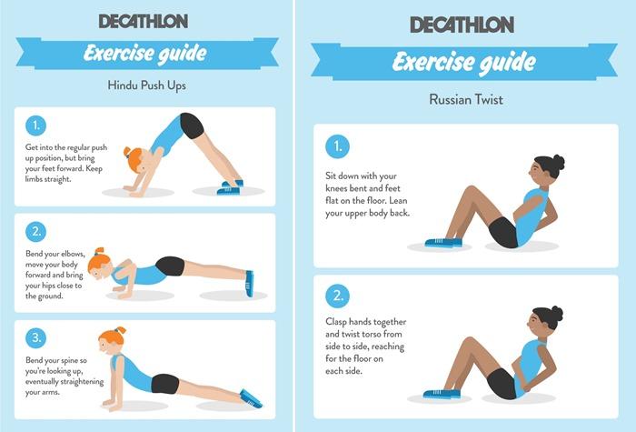 fitness friday tone up while to kettle boils - hindu-push-up-horz