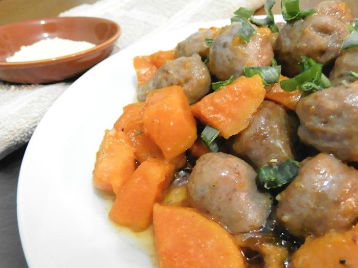 Paleo Sweet potato and sausage hash Whole 30 (3)