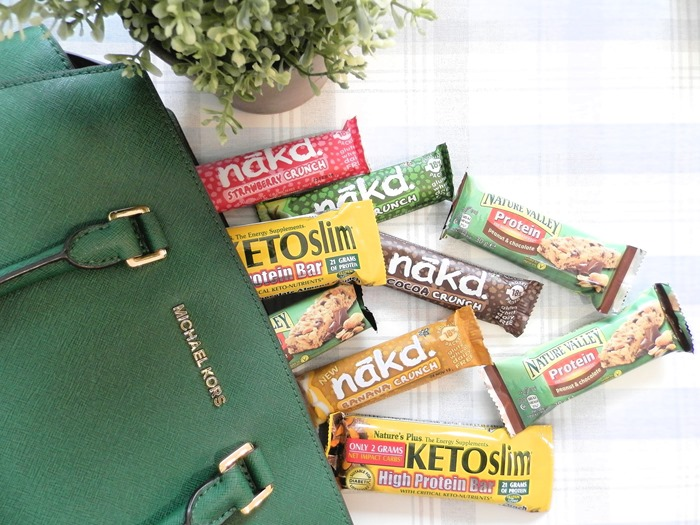 Spring snacking healthy snack bars