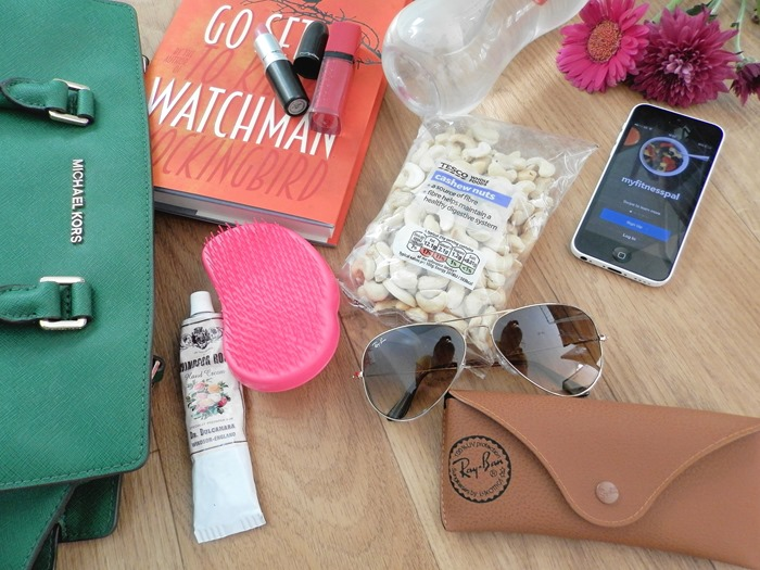 Whats in my summer bag - rayban aviator review