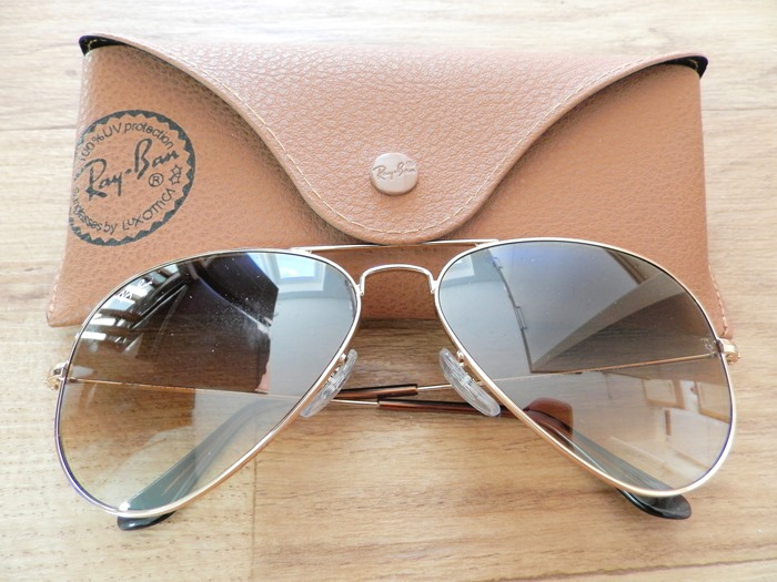 Whats in my summer bag - rayban aviator review (2)