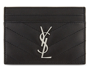 buy ysl card holder